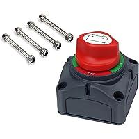 Batería Déconnecter Sectionneur, MoPei 4 Potations Interruptor Selector