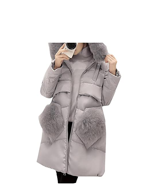 7407f0913 Amazon.com  LR Winter Women Jacket Down Coat Plus Size 5XL Genuine ...