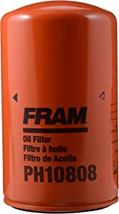 FRAM PH10808 Heavy Duty Spin-On Oil Filter