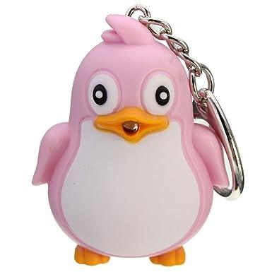 Amazon.com: potato001 Cute Animal Pingüino Luz LED con ...