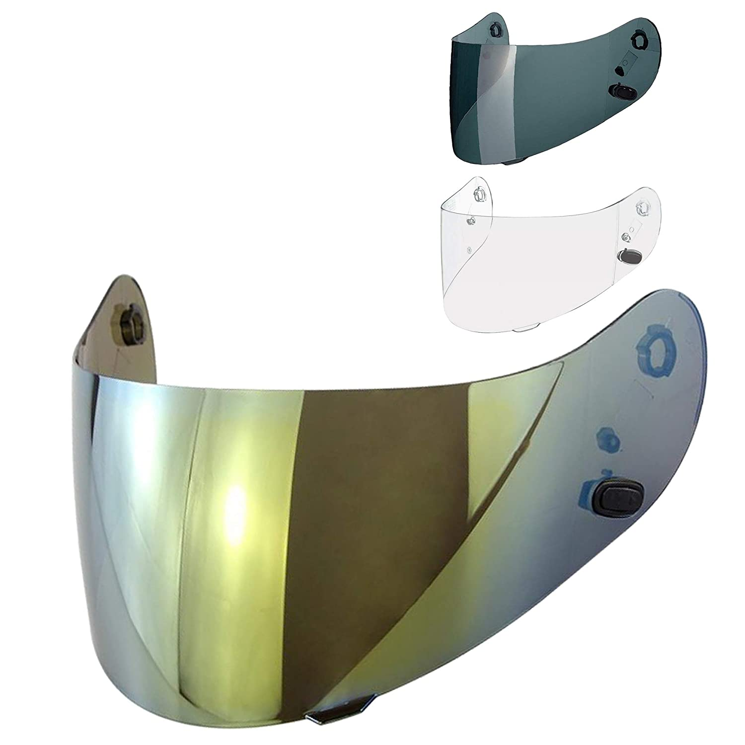 HJC HJ-09 Shield Visor Gold for FS-10 FS-15 CL-16 IS-16 FG-15 FS-11 CL-ST 2 II