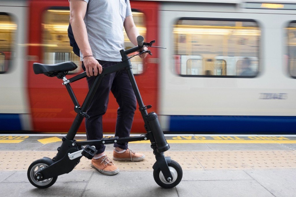 Innovative Edge Design Foldable Electric A-Bike
