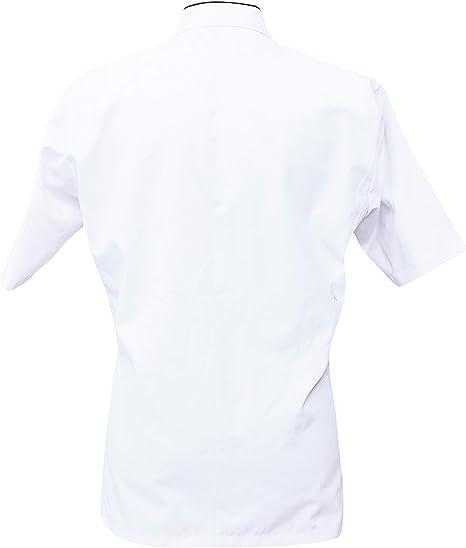 Leorenzo Creation HF-82 Beauteous Design Womens Chef Coat Double Pocket Size- XXS-5XL, White