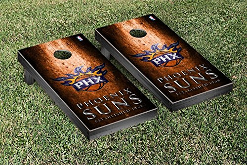 Phoenix Suns NBA Basketball Regulation Cornhole Game Set Museum Version by Victory Tailgate