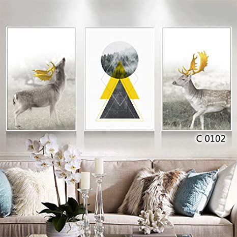 zlhcich Finnis Triple salón Pintura Decorativa Z1659 Pintura ...