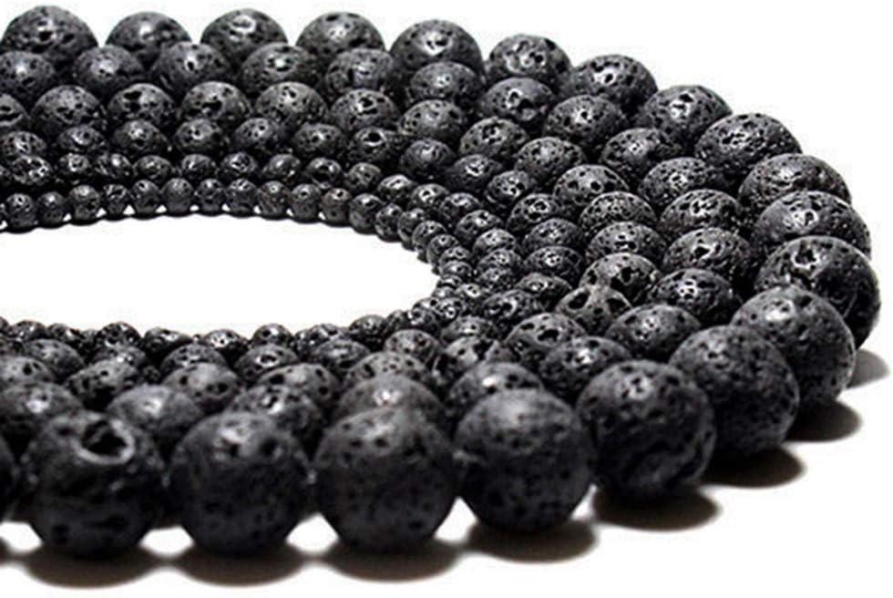 "2 strands 12mm NATURAL LAVA Matt Black Round Gemstone Stone Beads 15/"" //34pcs Z01"