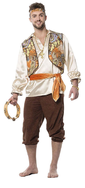 L3301420-50 Orange-braun Herren Herren Herren Zigeuner Ungarisches Kostüm Gr.50 8c5e46