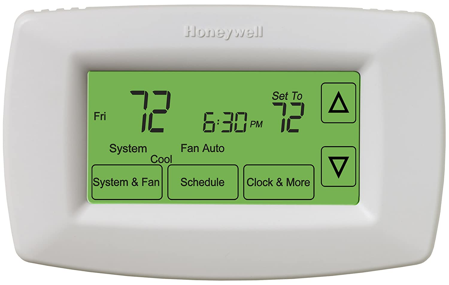 Honeywell Touchscreen 7 Day Programmable Thermostat Building Rth8500d Wiring Diagram Supplies Amazon Canada