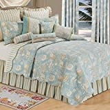 C&F Home Natural Shells Full/Queen Quilt 90×92 – Coastal Theme For Sale