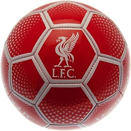 Liverpool F.C. Balón de fútbol Juvenil Unisex, Color Rojo, Talla 5 ...