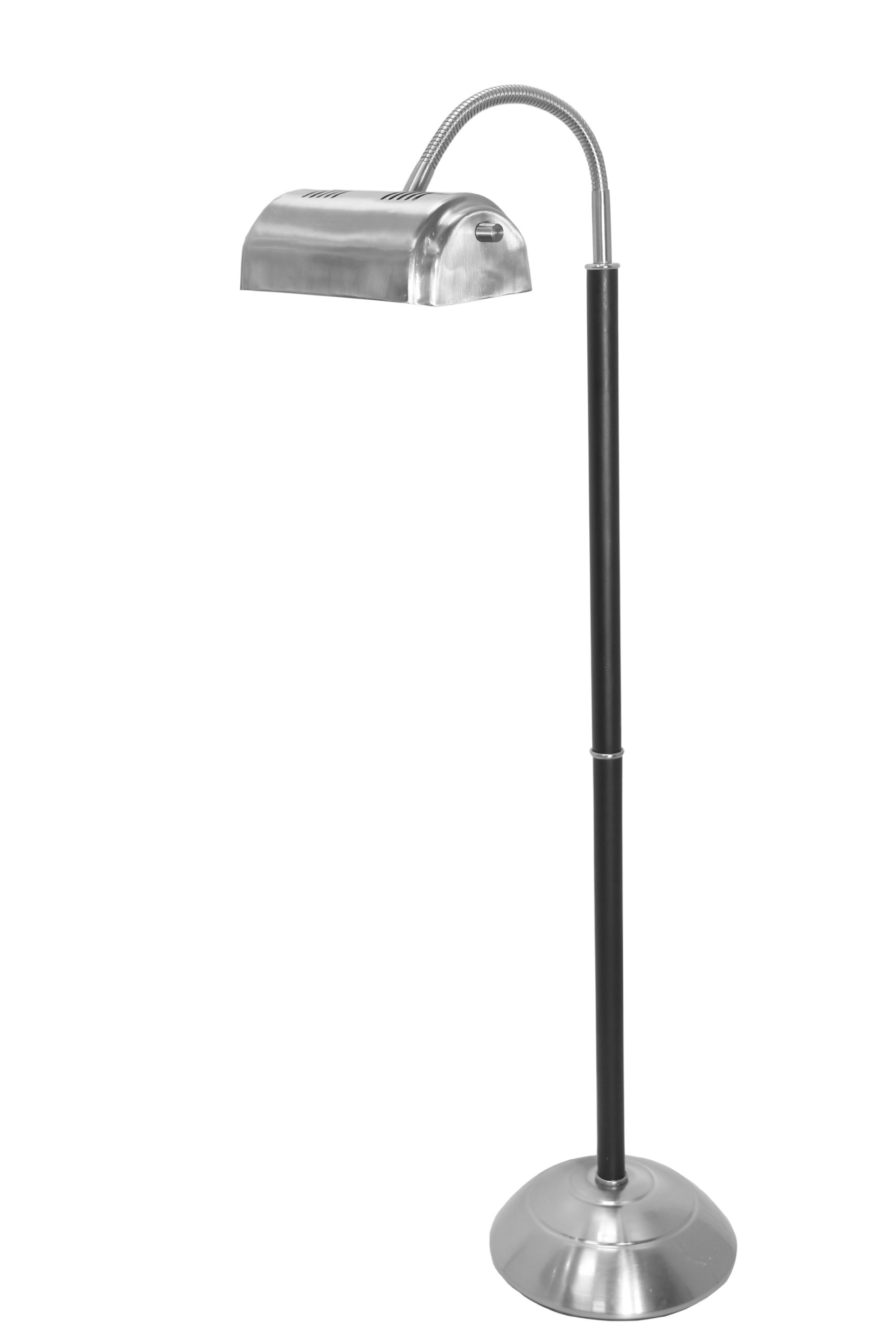 daylight24 402042-15 55W Natural Day Light Floor Lamp, Brushed Steel