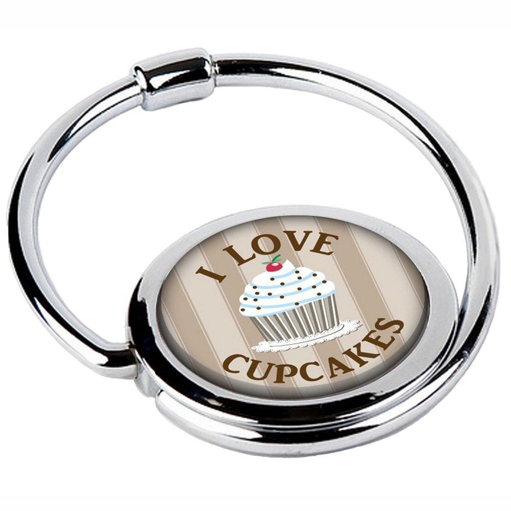Miss Kha Accroche Sac Pliable Love Cupcakes CIRCLE-23