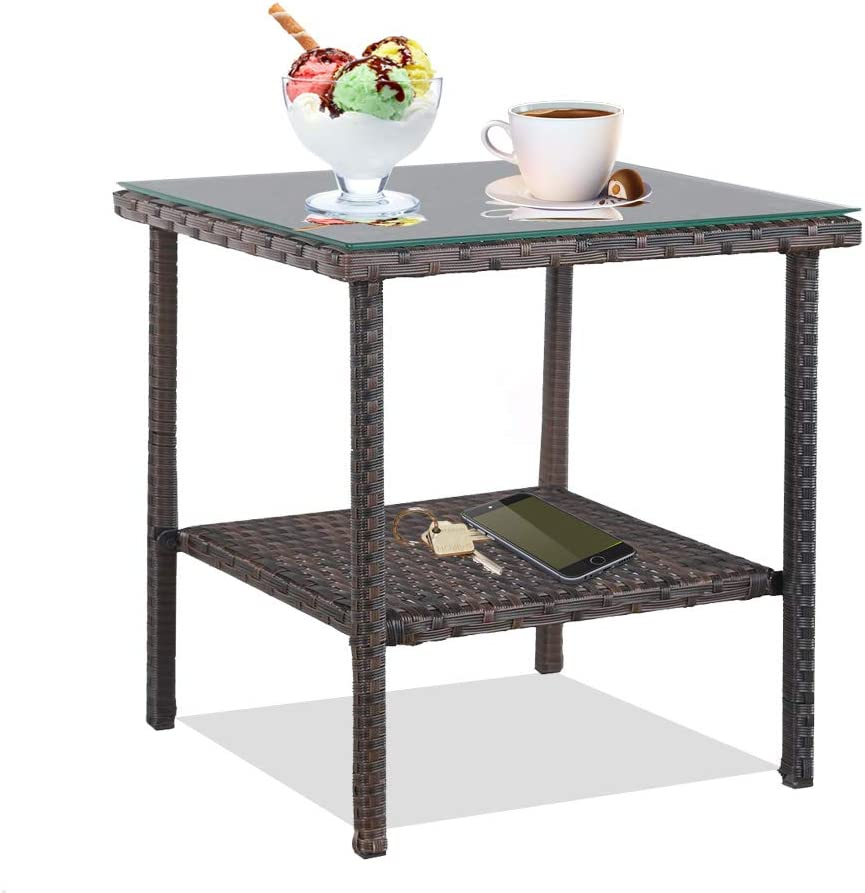 patio coffee tables amazon com rh amazon com small round patio table and chairs patio small table set