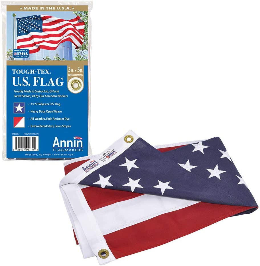 Annin Flagmakers Model 2710 American Flag 3x5 Ft. Tough
