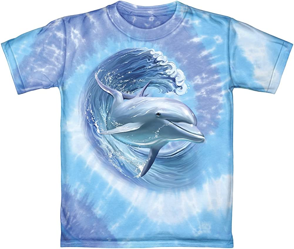 SEA LIFE /& DOLPHIN/'S COLOUR IN YOUR OWN PERSONALISED T-SHIRT *FUN GIFT /& NAMED*