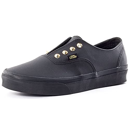 abe7b9ede0518 Vans Unisex Adults  U Authentic Gore Authentic Gore Studs Leather Black EU  39