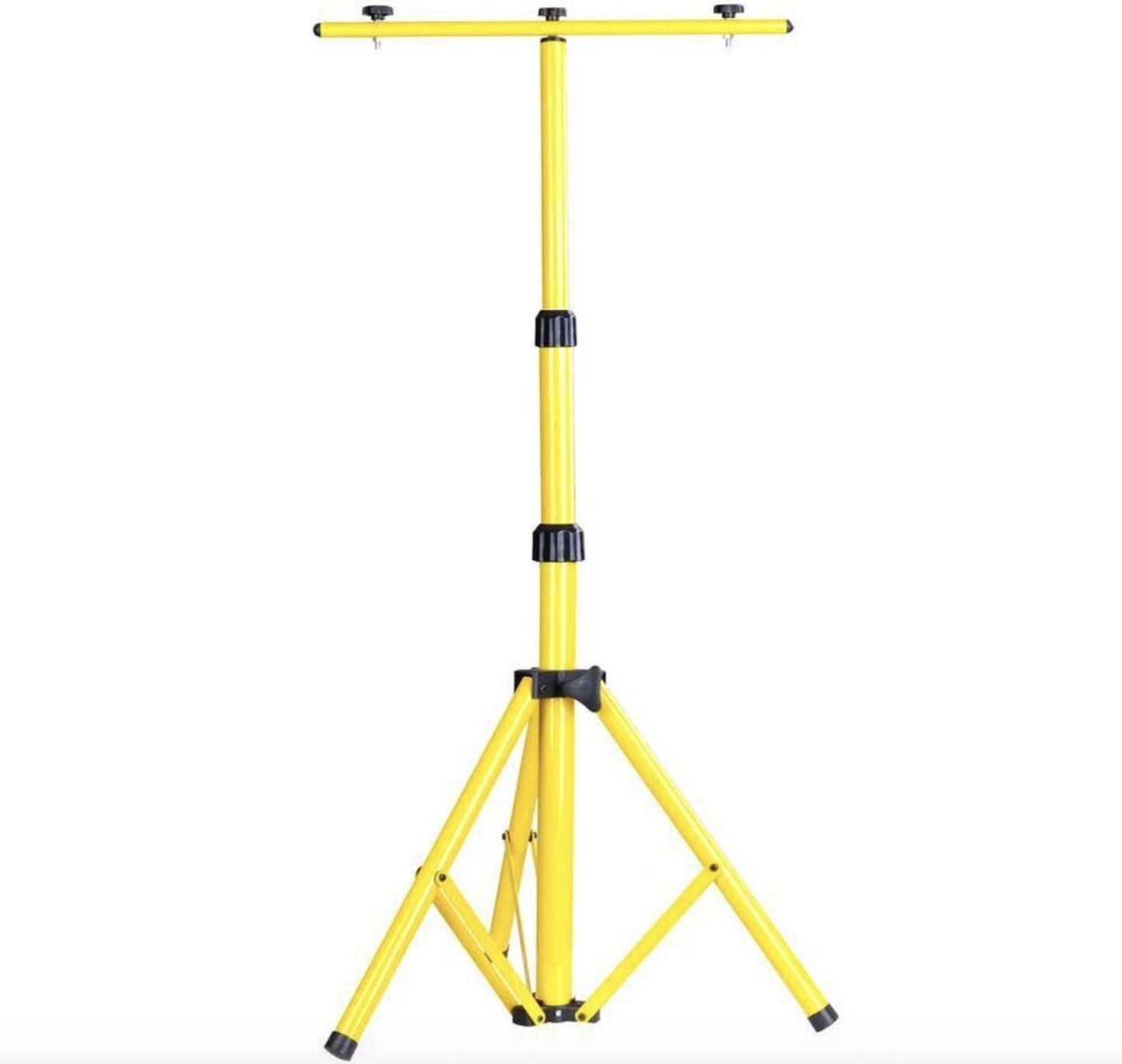 Witss/® Stativ f/ür LED Strahler Baustrahler Strahler Au/ßen Stahlstativ