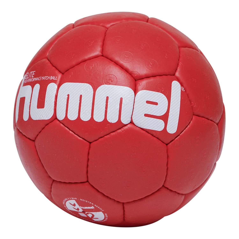 hummel HMLELITE Ball, Unisex Adulto, Rojo/Blanco, 2