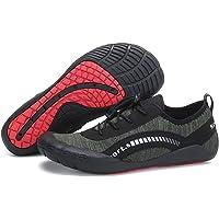 Men's Water Aqua Shoes Socks Quick-Dry Upstream Barefoot Beach Walking Sneakers Lights Outdoor Hiking Climbing Wading Shoes Fishing Swimming Shoes Trail Trekking Sport Shoes for Water, Rocks, Beach
