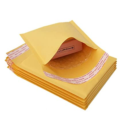 JJPRIME - 200x Tamaño Mail Lite Gold Sobres acolchados ...