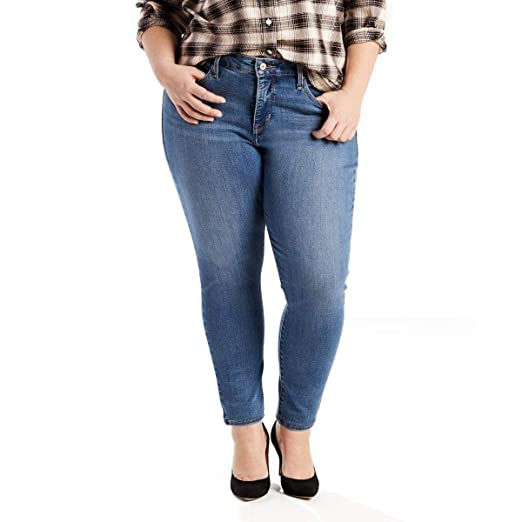 506dc54f1e5 Levi s Women s Plus Size 310 Shaping Super Skinny Jeans (26W x L ...
