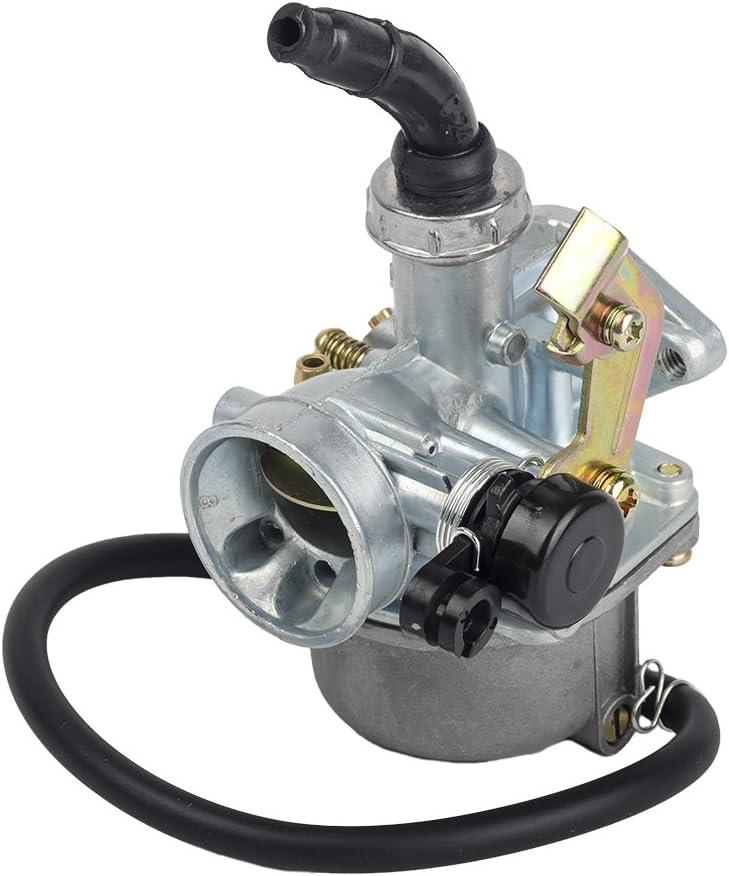 HIFROM(TM) PZ19 PZ 19 mm Cable Choke Carburetor carb for 90cc 110cc 125cc ATV Quad dirt bike TaoTao Sunl