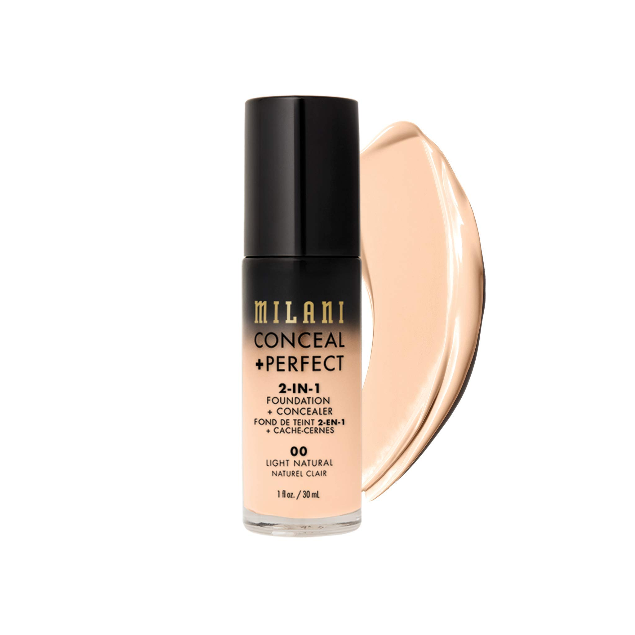 MILANI Conceal + Perfect 2 In 1 Foundation + Concealer Light Natural