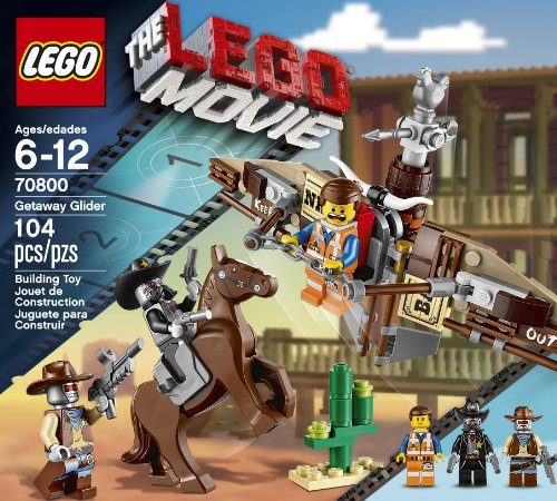 LEGO, The Lego Movie, Getaway Glider (70800)