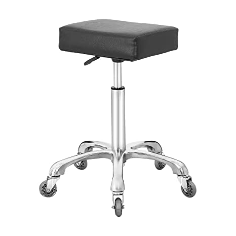 Marvelous Rolling Swivel Stool Chair For Kitchen Office Medical Work Adjustable Stool With Wheels Black Caraccident5 Cool Chair Designs And Ideas Caraccident5Info