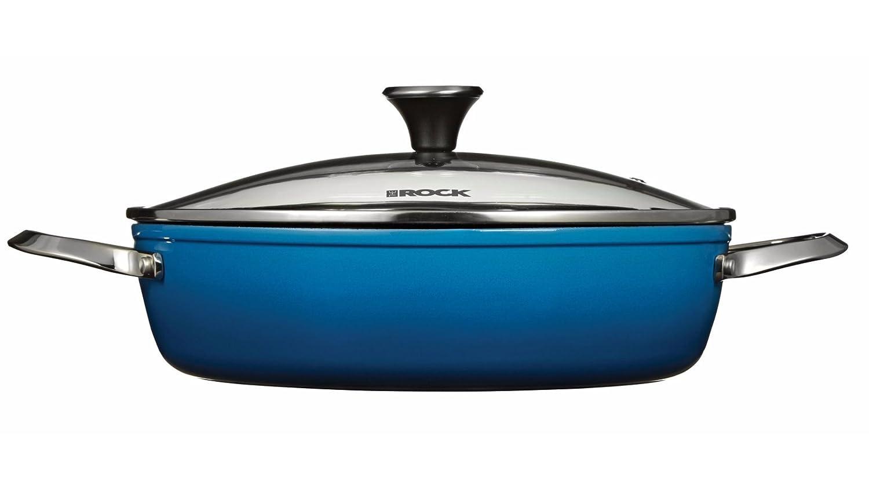 Heritage The Rock One-Pot Blue Dutch Oven, 12 (30cm), 5 Quart (4.8 Liter) 12 (30cm)