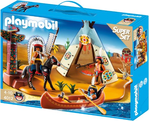 PLAYMOBIL 4012 - SuperSet Indianerlager