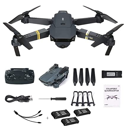 E58 Drone X Pro Foldable 2.4ghz Quadcopter Wifi 1080p Camera 4 Pcs Batteries Low Price Other Rc Model Vehicles & Kits Cameras & Photo