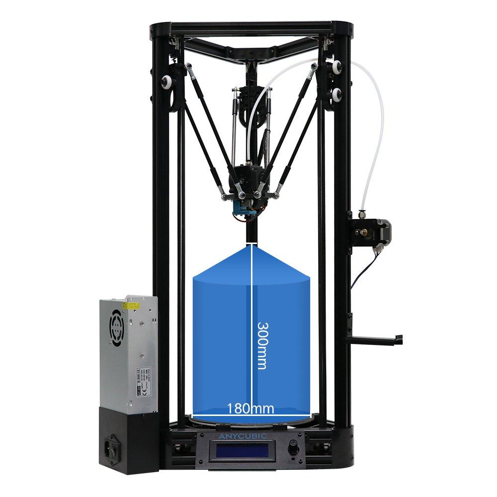 Anycubic - Kit de impresora 3D Delta Rostock (tamaño grande ...