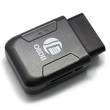 Tongshi OBD II GPS TRACKER tiempo real del coche camión de Seguimiento de Vehículos GSM GPRS