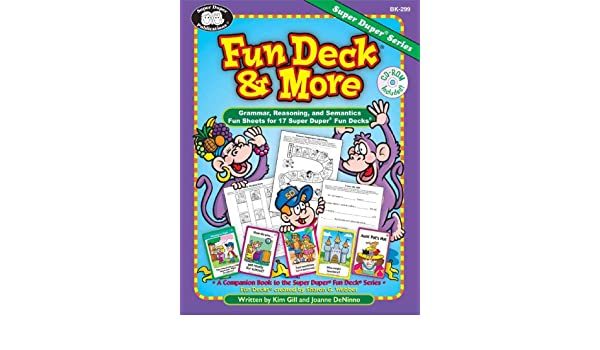 Fun Deck® & More: Grammar, Reasoning, and Semantics Fun Sheets for ...