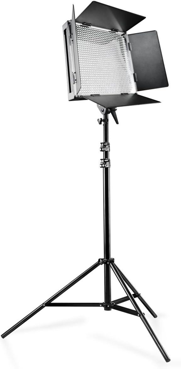 WT-806 Lampenstativ Stativ walimex pro LED 500 Videoleuchte Flächenleuchte