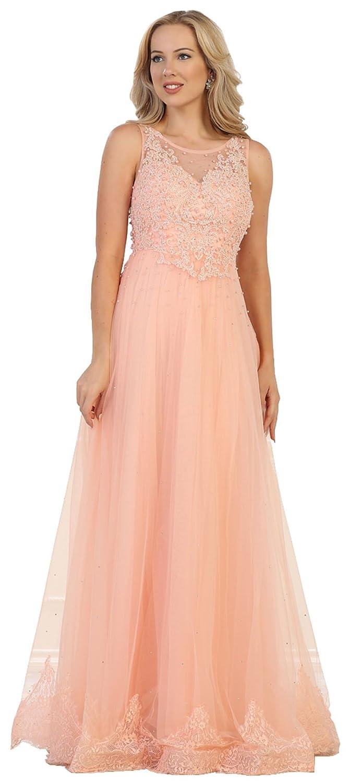 bluesh Formal Dress Shops Inc Royal Queen RQ7569 Aline Military Ball Formal Gown