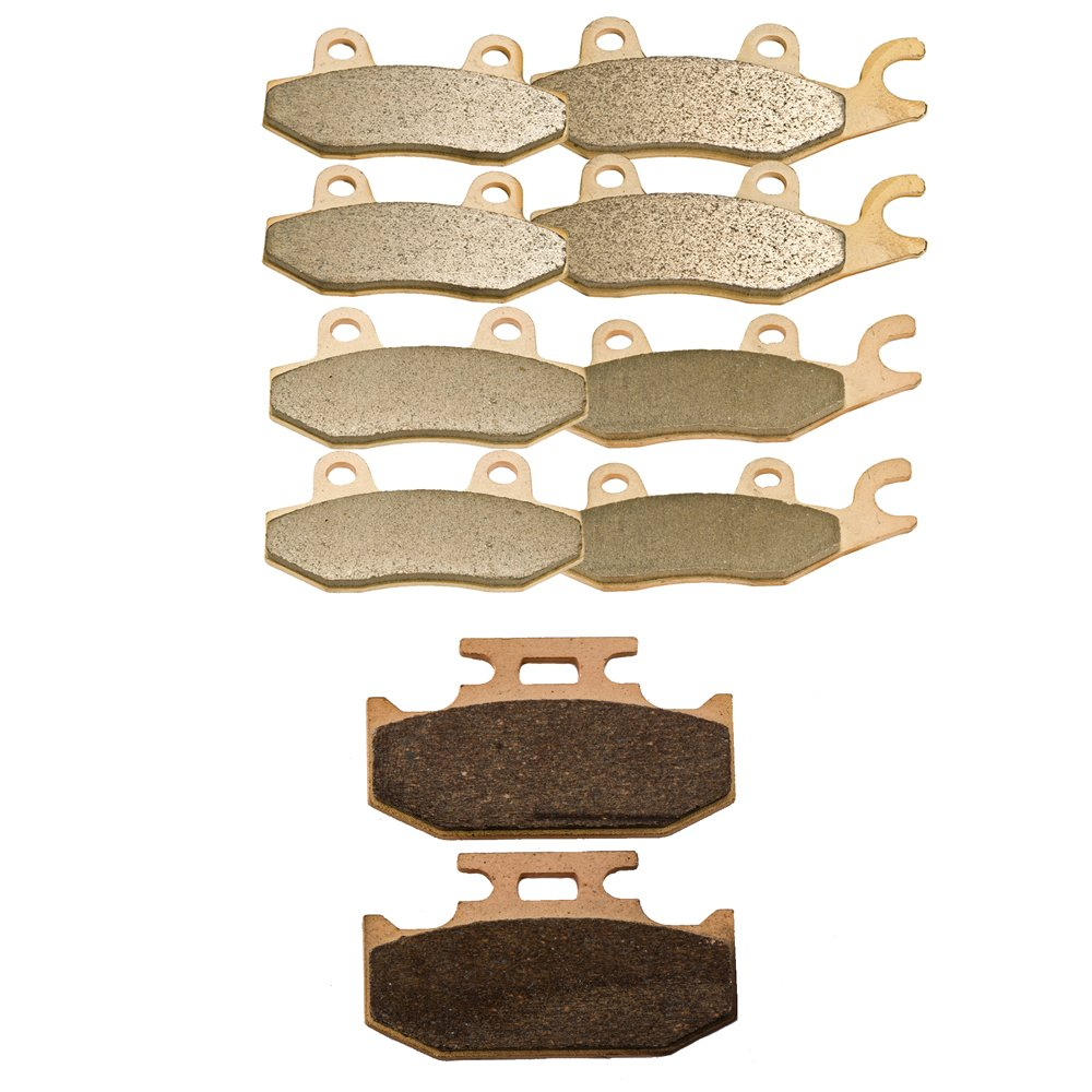 Front Rear and Parking Sintered Brake Pads for Yamaha YXR 700 Rhino 700 4x4 2008 2009 2010 2011 by Foreverun Motor