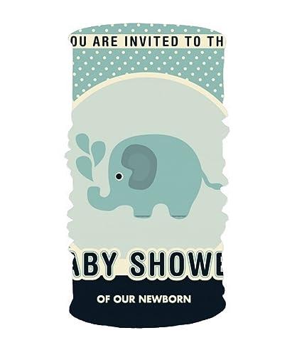 Amazoncom Xpniao Stylish Baby Shower Invitation Design Uv