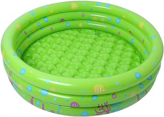 JYCRA - Piscina hinchable para bebé, duradero, para piscina, piscina, plegable, para piscina, jardín, juguete divertido para niños, pvc, Verde, 80 cm: Amazon.es: Hogar