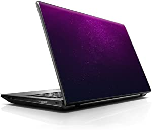 """15 15.6 inch Laptop Notebook Skin vinyl Sticker Cover Decal Fits 13.3"""" 14"""" 15.6"""" 16"""" HP Lenovo Apple Mac Dell Compaq Asus Acer / Purple dust"""