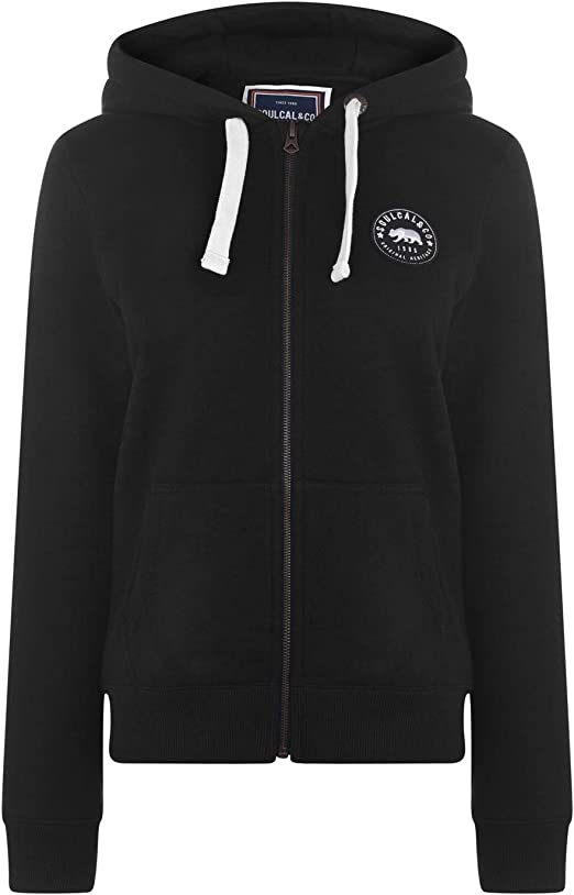 Mens SoulCal Signature Zip Hoody Hoodie Long Sleeve New