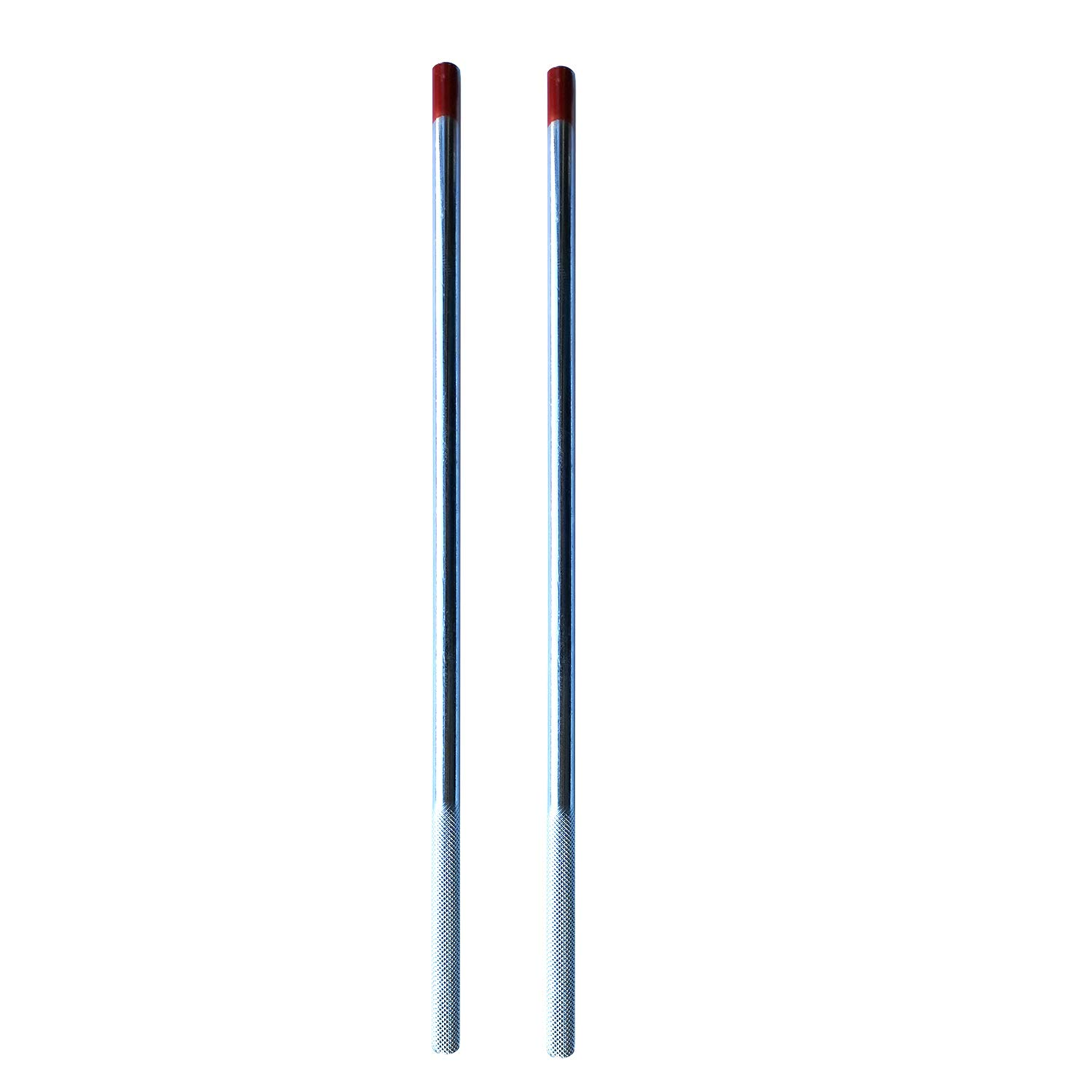 Premium 2Pcs Winding Bars with Non Slip Handle 1 2'' in Diameter X 16'' in Length Used for Garage Door Torsion Spring
