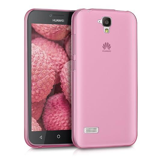 62 opinioni per kwmobile Cover per Huawei Y5- Custodia protettiva ultra sottile in silicone TPU-