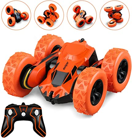 HELIFAR Stunt RC Car, Remote Control Car, Remote Control Off-Road Racing, 2.4GHz Racing Extreme, 360 Degree Rolling, Rotation and Flip, Double-Sided Car Suitable, for Children Adults