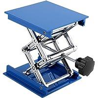 100x100mm Soporte de Laboratorio Mesa Azul Laboratorio Galvanizado