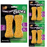 Pet 'n Shape Long Lasting Sweet Potato Chewz Natural Dog Treats, Bone, 4-Inch, 6 Bones