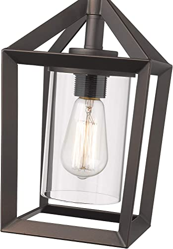 Emliviar 1-Light Cage Pendant Light