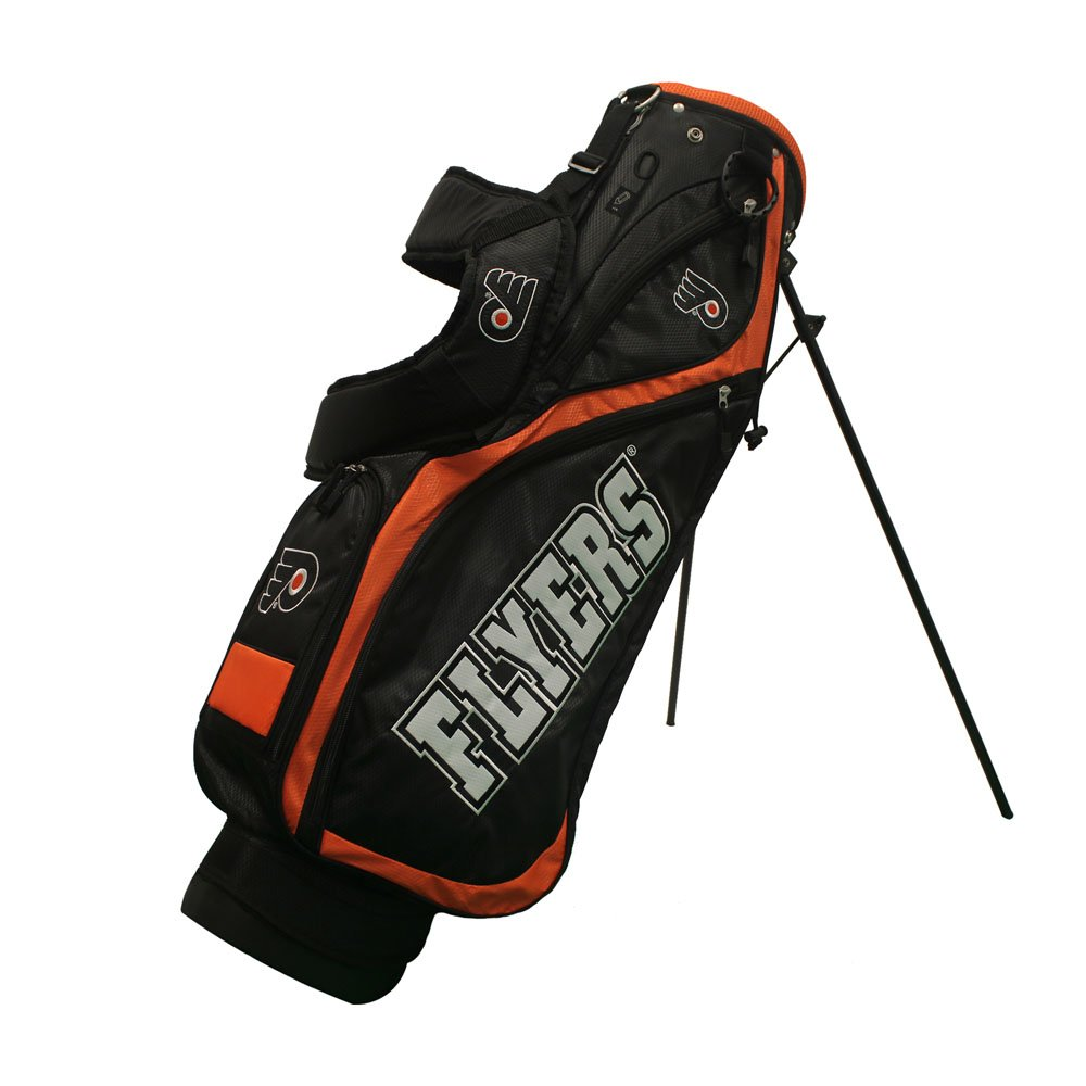 NHL Philadelphia Flyers Nassau Golf Stand Bag, N/A, N/A