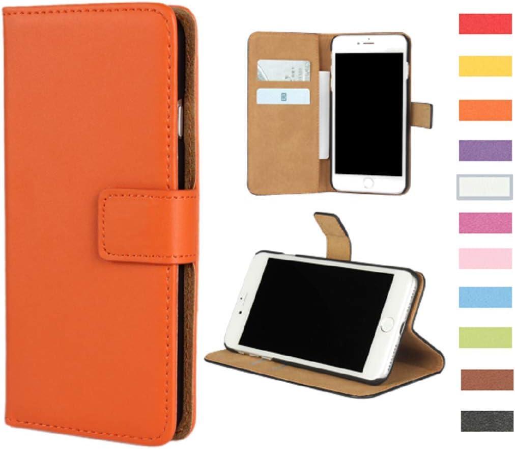 Jaorty Huawei Google Nexus 6P Case,Genuine Premium Leather Folio Wallet Case Flip Cover Case Book Design with Kickstand Feature /& Magnetic Closure /& Card Slots//Cash Compartment for Nexus 6P,Green